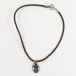Lauren Ralph Lauren Necklace Leather Choker